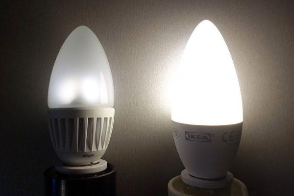 Диммирование светодиодных ламп в квартире