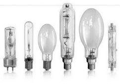Различные виды газоразрядных ламп