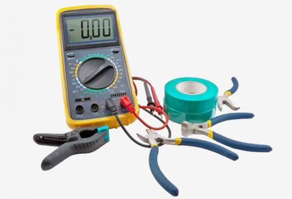 Инструменты, необходимые для замены счетчика электроэнергии