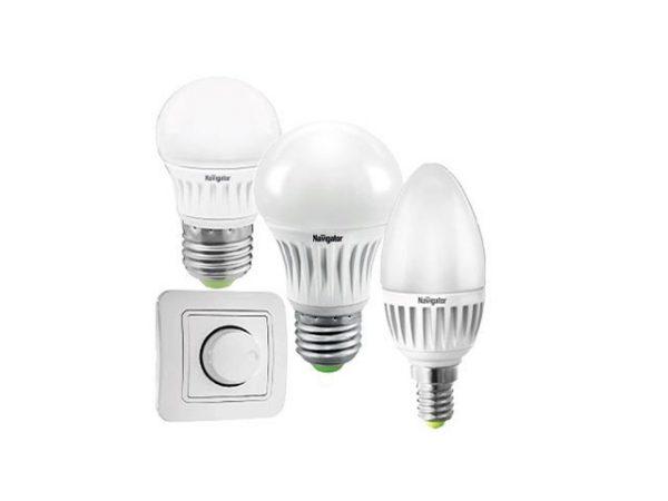 Светодиодные лампы диммируемые и диммер