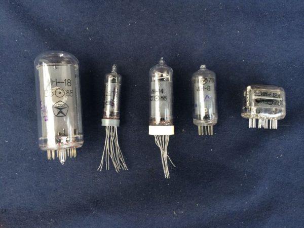 Газоразрядные индикаторные лампы