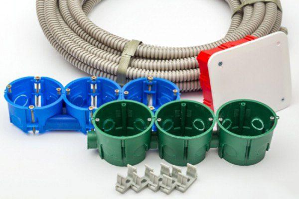 Расходные материалы для замены электропроводки