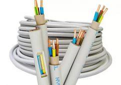 Провода медные для проводки различного сечения