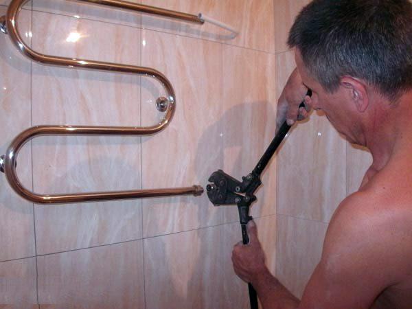 Как изготовить полотенцесушитель своими руками