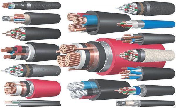 Сечения проводников внутренней сети