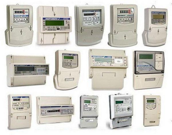Различные виды двухтарифных электросчетчиков