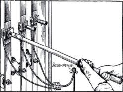 Особенности монтажа переносного заземления