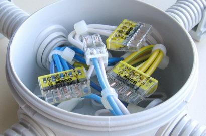 Провода в расперд коробке