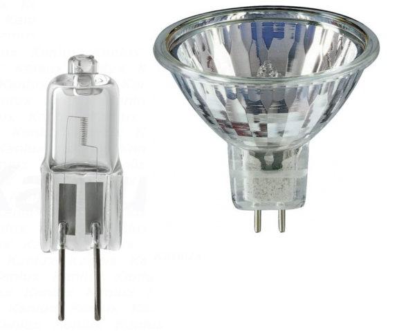 Галогенные лампы для точечных светильников