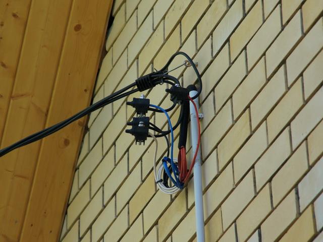 Какой кабель использовать для ввода в дом от СИПа