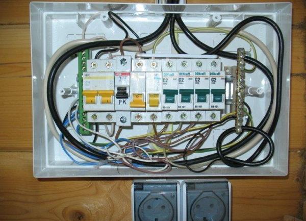 Подсоединение СИП кабеля к внутренней проводке