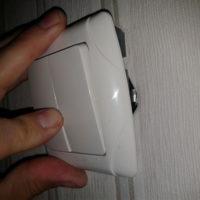 Монтаж выключателя света
