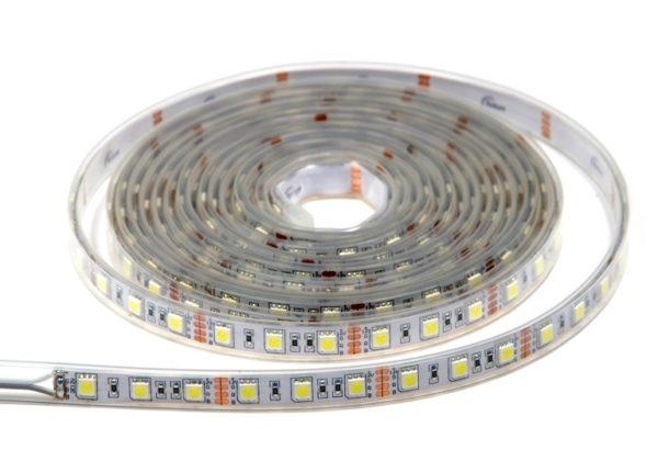 Влагозащищенная светодиодная лента Светодиодная лента SMD 5050  IP68 Premium