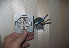 Выбор сечения электропроводки