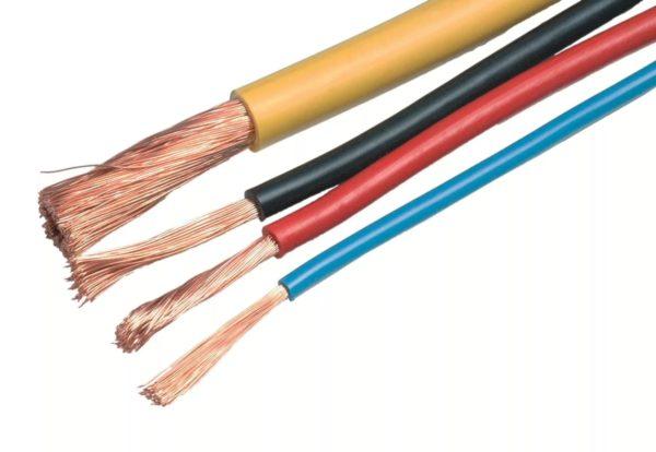 Провода для подсоединения розеток к электросети