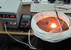 Замер потерь электричества в кабелях