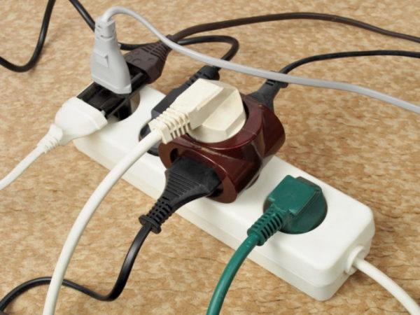 Подключение большого числа электроприборов