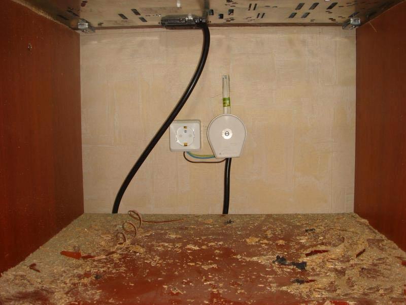 Выбор, подключение и установка розетки для электроплиты
