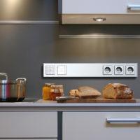 Размещение кухонных розеток