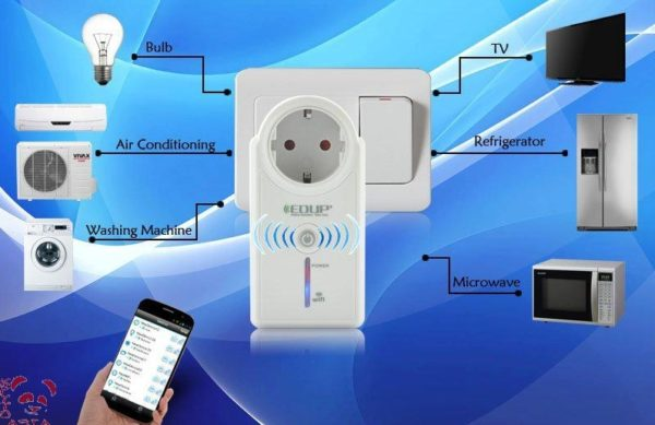 Wi-Fi розетка позволяет управлять большинством бытовых электроприбов