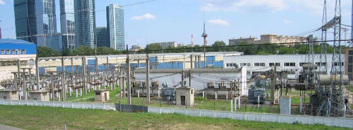 ПС 220 кВ «Пресня» Москва