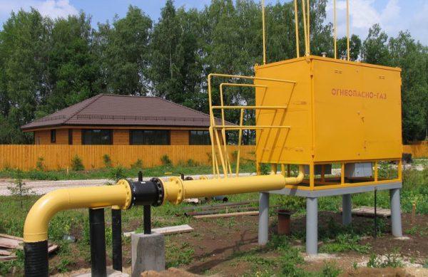Заземление взрывоопасных участков газопровода