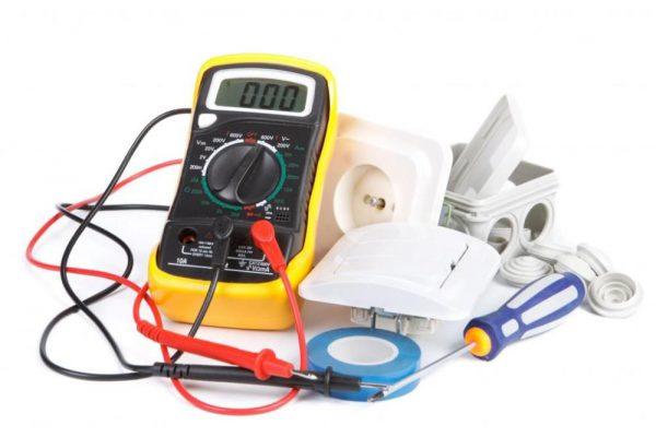 Инструменты для починки выключателя