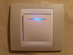 Выключатель Schneider с подсветкой