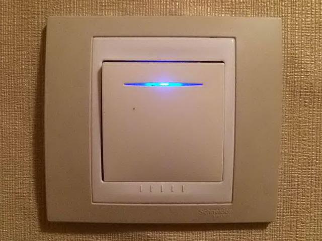 Принцип работы выключателя света