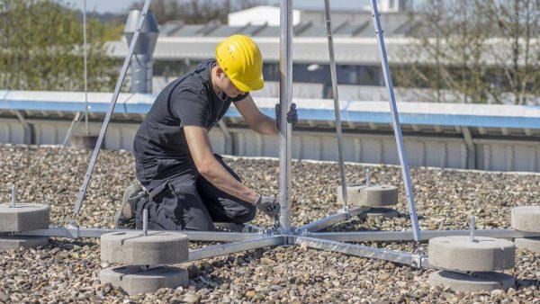 Плановая проверка системы молниезащиты здания
