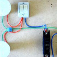 Выключатель на два источника света