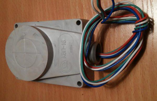 Бесконтактный путевой выключатель КВП-16