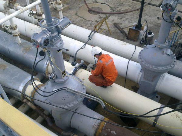 Ремонт системы заземления трубопроводов