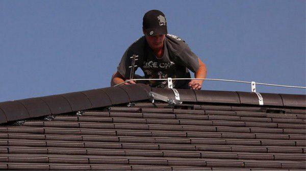 Самостоятельный монтаж системы молниезащиты для дома