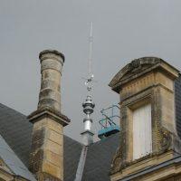 Установка активной молниезащиты на крыше