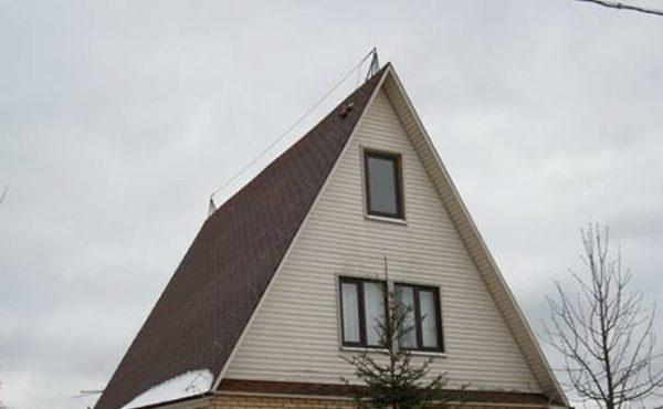 Тросовая система защиты дома от молний