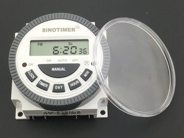 Многоцелевой электронный таймер с водонепроницаемой крышкой