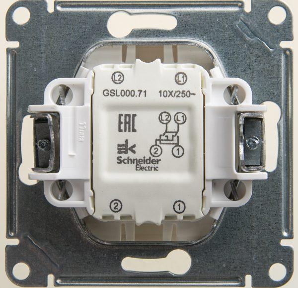 Перекрестный выключатель 10А 250В