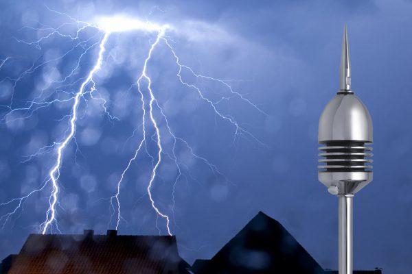 Защита от первичного факторая поражения при ударе молнии
