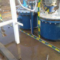 Устройство заземления трубопроводных систем