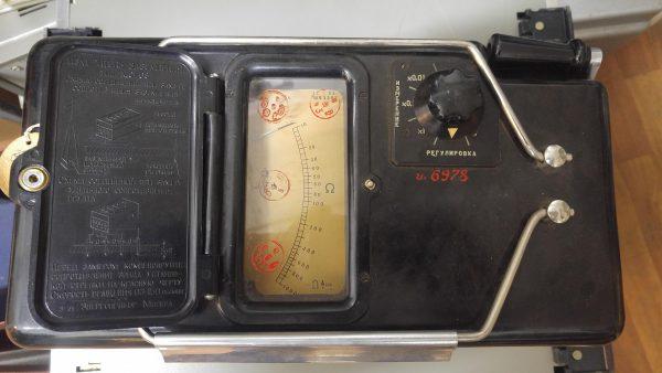 Измеритель сопротивления МС-08