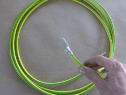 Маркировка проводов для подсоединения заземления