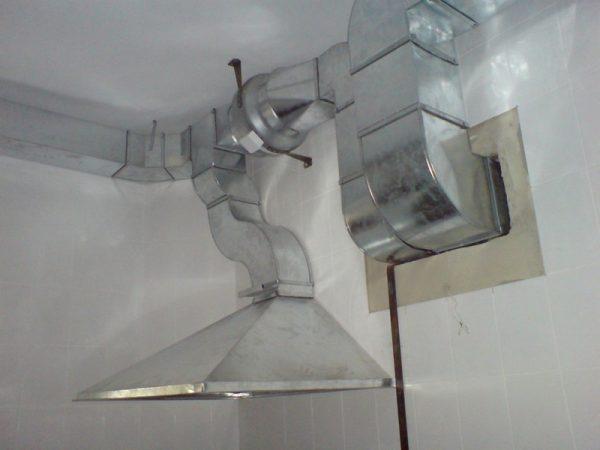 Заземление металлических элементов системы вентиляции