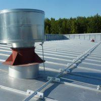 Защита крыши от молний