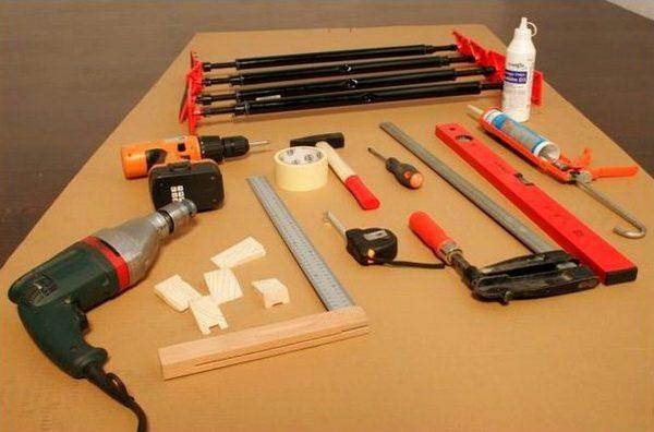 Инструменты для установки и заземления ванны
