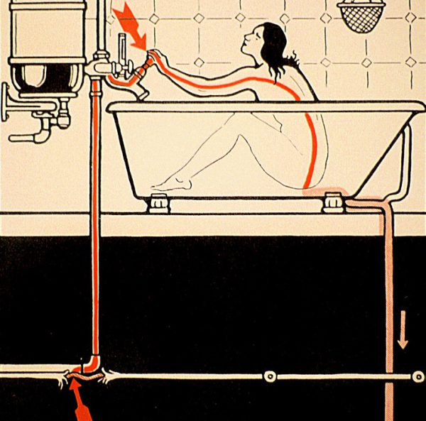 Необходимость заземления ванны