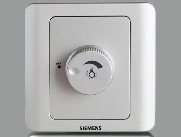 Поворотный диммер от фирмы Siemens