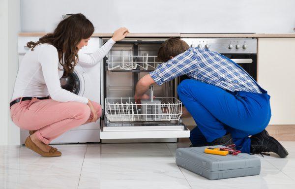 Проверка наличия подсоединения посудомоечной машины к заземлению