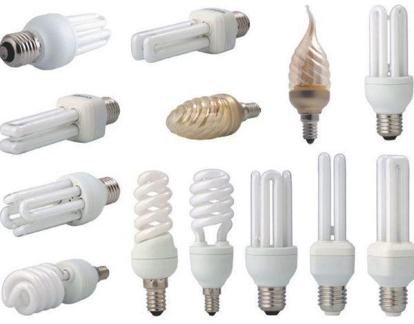 Виды плафонов энергосберегающих ламп