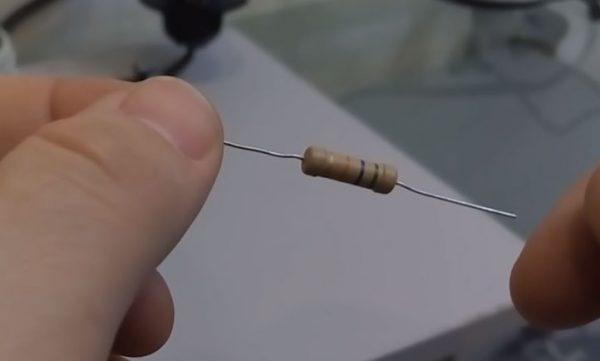 Подбор сопротивления резистора для шунтирования светодиодной лампы
